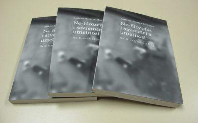 """Konceptualni atelje: Razgovor o knjizi """"ne- filozofija i savremena umetnost"""""""