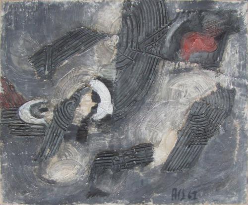 Moderna galerija- Likovni susret Subotica: Jozef Ač, Egzaktno kretanje, 1961.