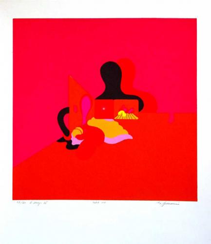 MSUV: Apolonio Zvest Igre 8, 1971. serigrafija