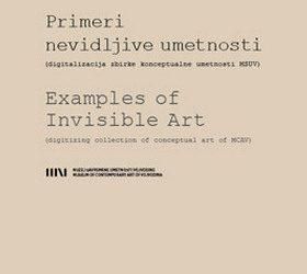 PRIMERI NEVIDLJIVE UMETNOSTI: digitalizacija zbirke Konceptualne umetnosti MSUV