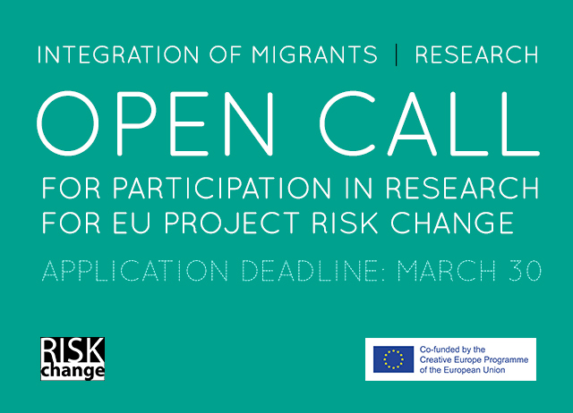 OPEN CALL for EU project RISK CHANGE