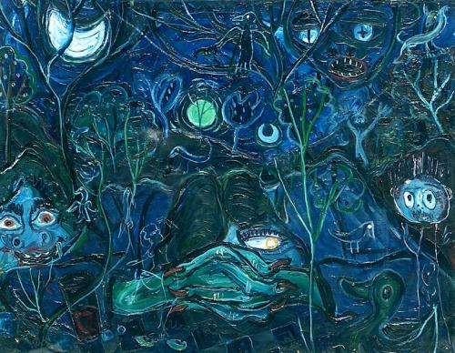 SAVREMENA GALERIJA ZRENJANIN: Igor Vasiljev, Delirijum, 1953.